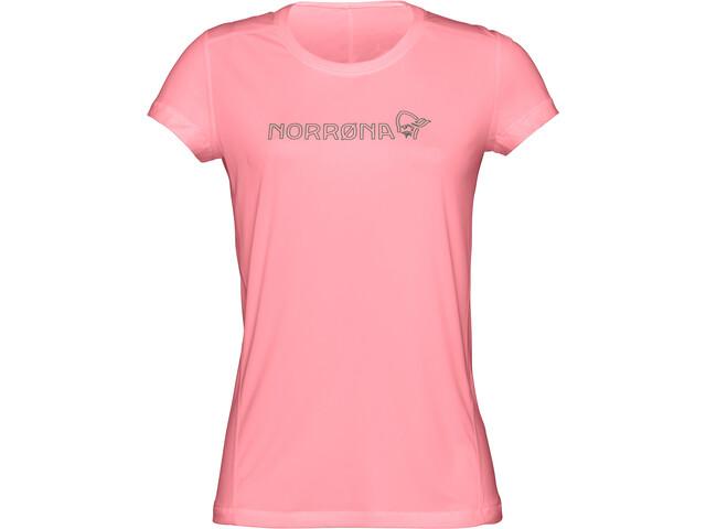 Norrøna /29 Tech - Camiseta manga corta Mujer - rosa